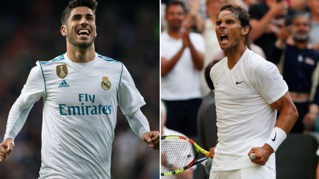 """El detalle de Rafa Nadal con Asensio mientras se encuentra en Wimbledon: """"¡Para mi amigo Marco con todo mi cariño!"""""""