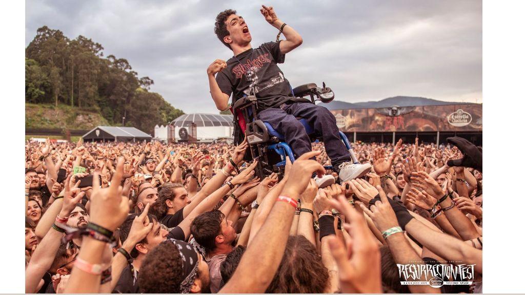 La foto que ha emocionado a los duros rockeros