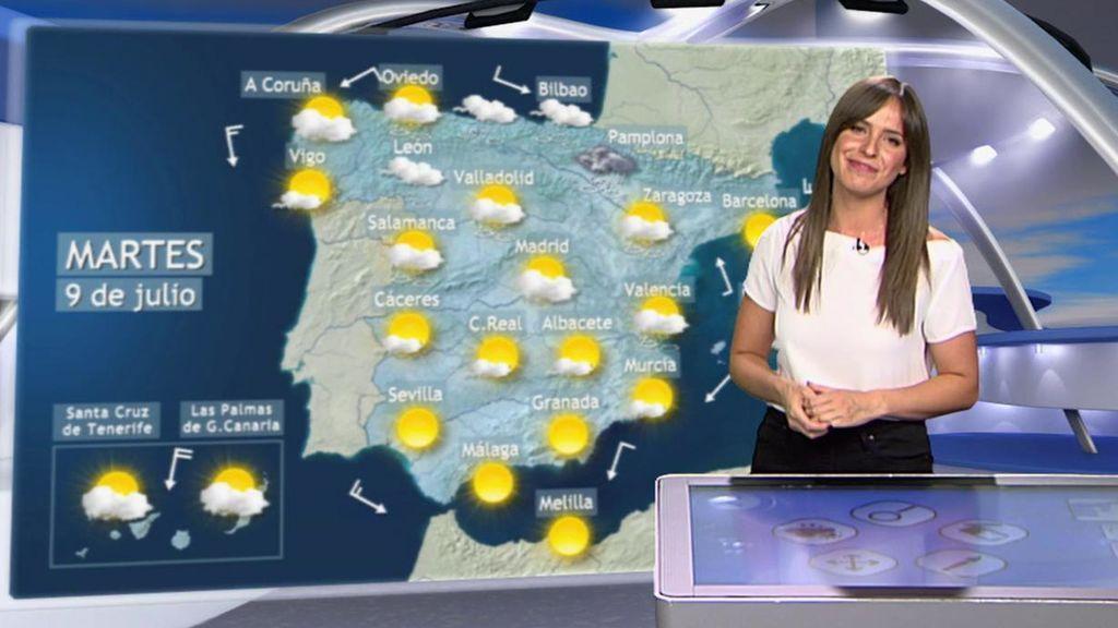 Tormentas y desplome de hasta 7ºC: la inestabilidad se extiende al Mediterráneo