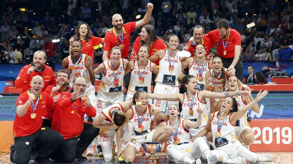 La Seleccion Espanola De Baloncesto Femenino Una Generacion De