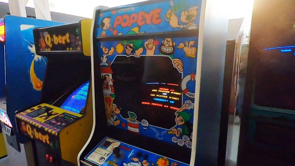 Museo Arcade Vintage en Ibi Alicante