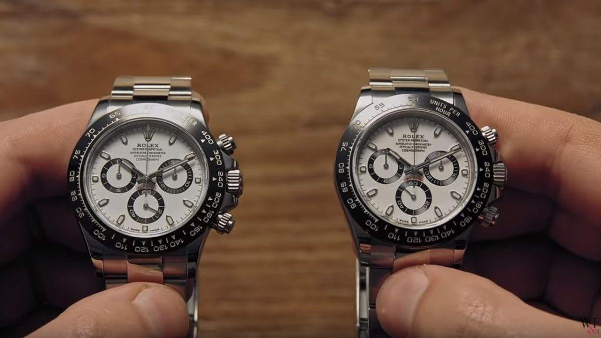 Que no te den gato por liebre: siete diferencias para distinguir un Rolex de una falsificación casi perfecta