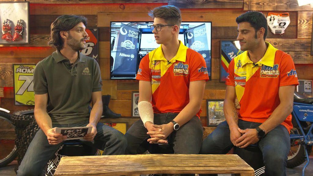 En Locos por las motos hablamos del Enduro con Iván Cervantes, seleccionador nacional y Enric Francisco, líder mundial Junior 2