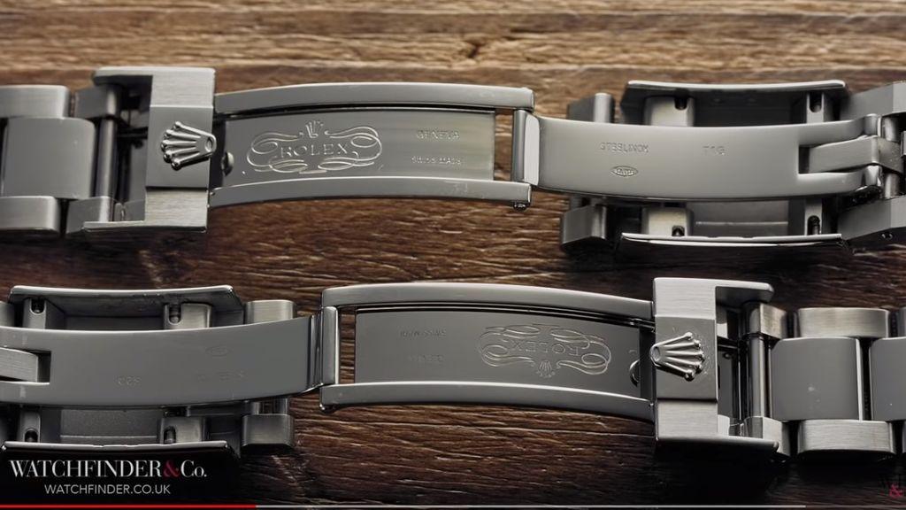 Correa de un Rolex Daytona y su falsificación