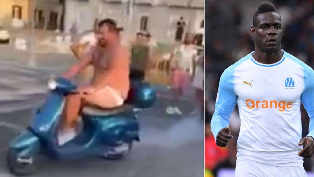 La broma del scooter le saldrá cara a Balotelli: La policía de Nápoles le denuncia por incitación al crimen y por apuestas ilegales