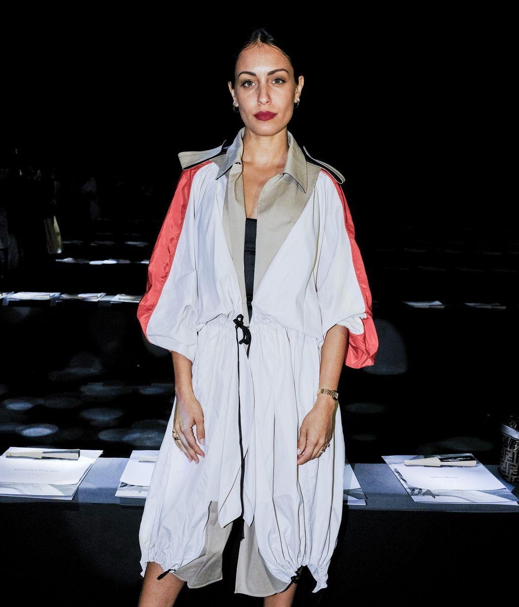 Isa Pantoja, Hiba Abouk y más famosos en el frontrow de la Fashion Week Madrid