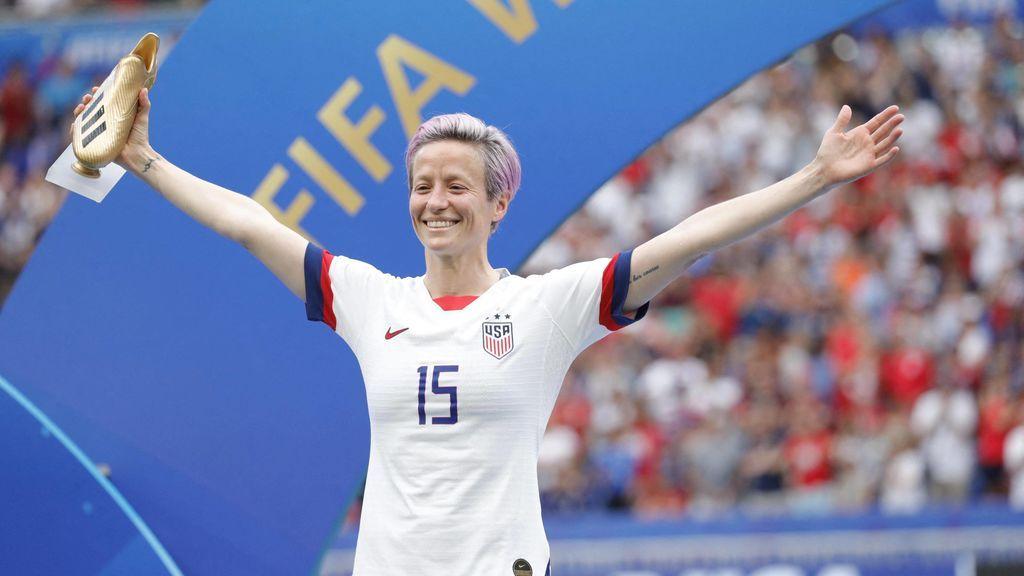 """Rapinoe critica la conducta de la FIFA con el fútbol femenino: """"No sentimos el mismo respeto que tienen con los hombres"""""""