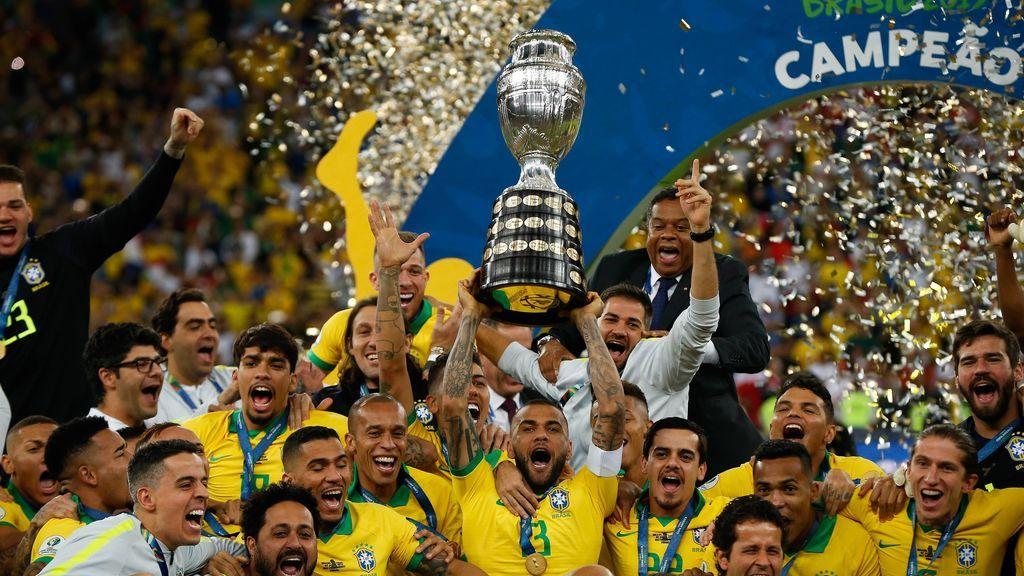 Brasil gana a Perú (3-1) recupera la gloria con 'su' Copa América