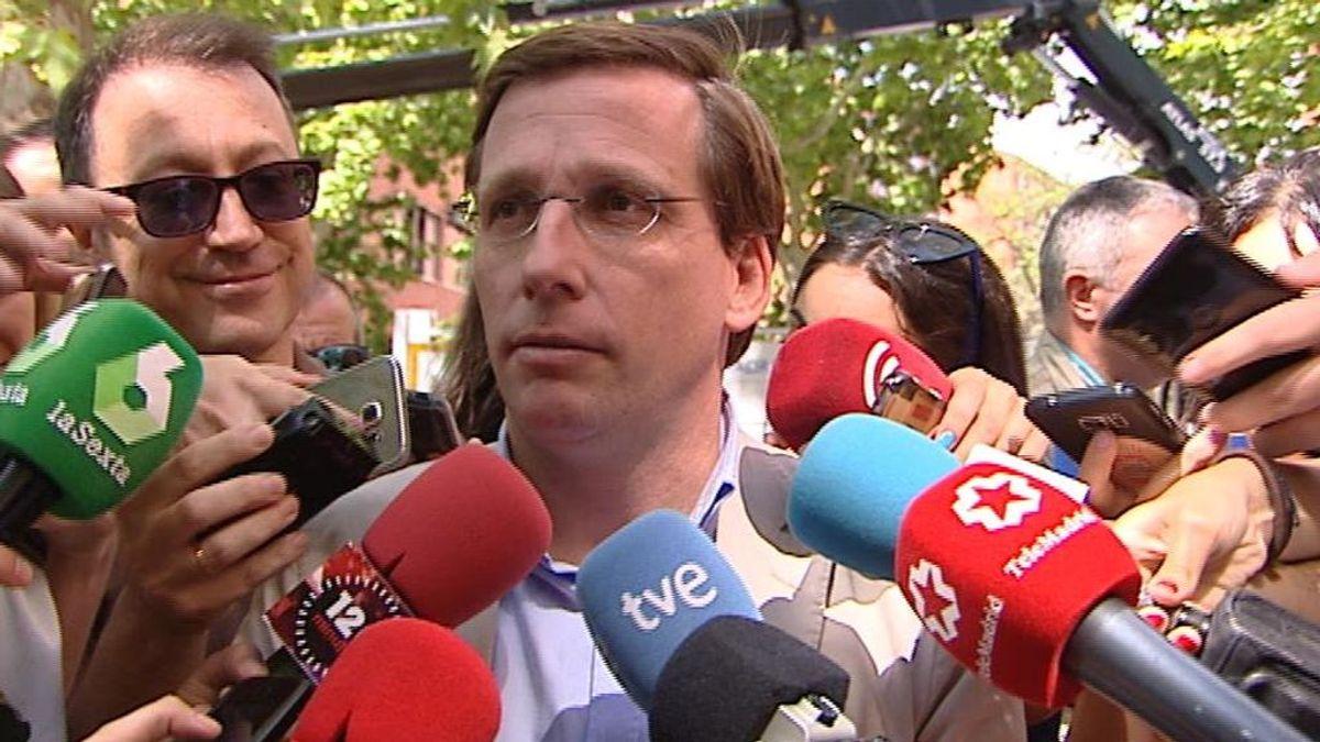 """Martínez-Almeida """"acata pero no comparte"""" la decisión judicial sobre Madrid Central"""