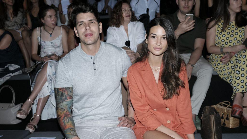 Diego Matamoros y su novia Estela Grande