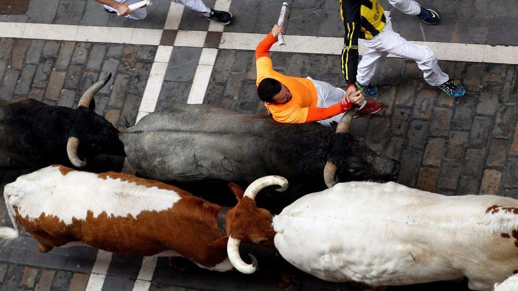 La toros de José Escolar dejan el encierro más rápido