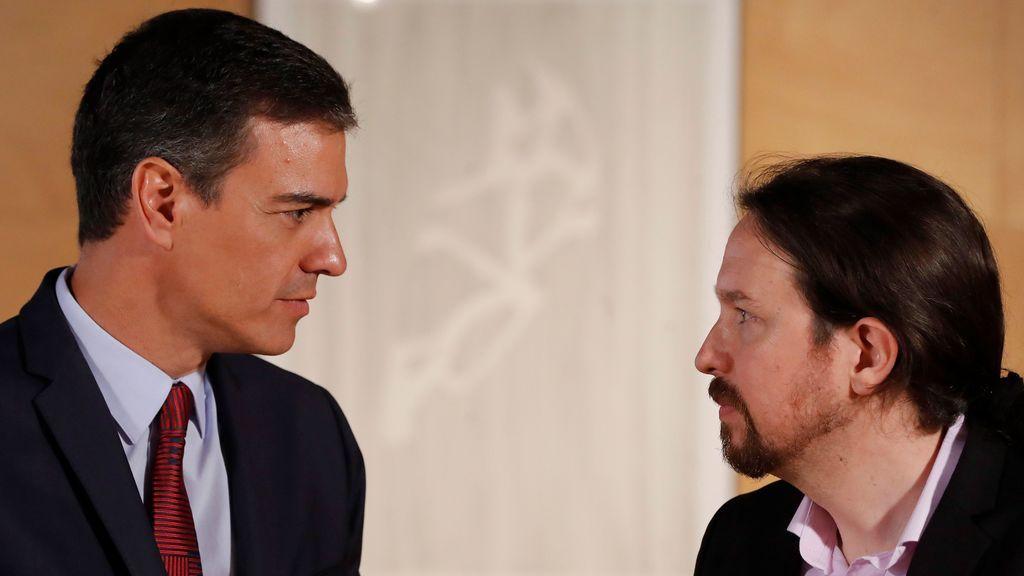 Sánchez amenaza a Iglesias con nuevas elecciones si no apoya su investidura