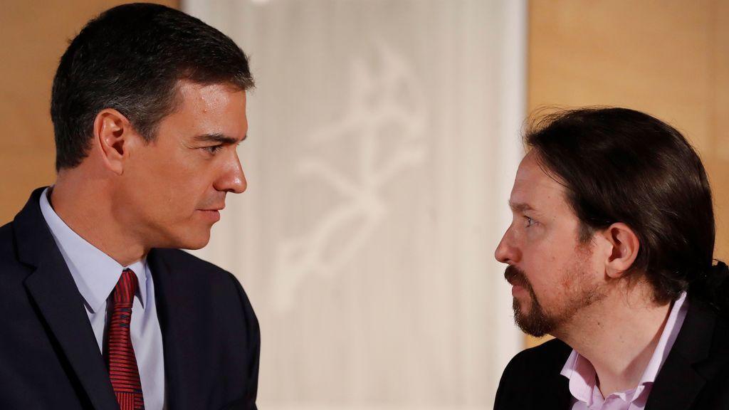 Fracasa la reunión entre Sánchez e Iglesias: el socialista amenaza con nuevas elecciones