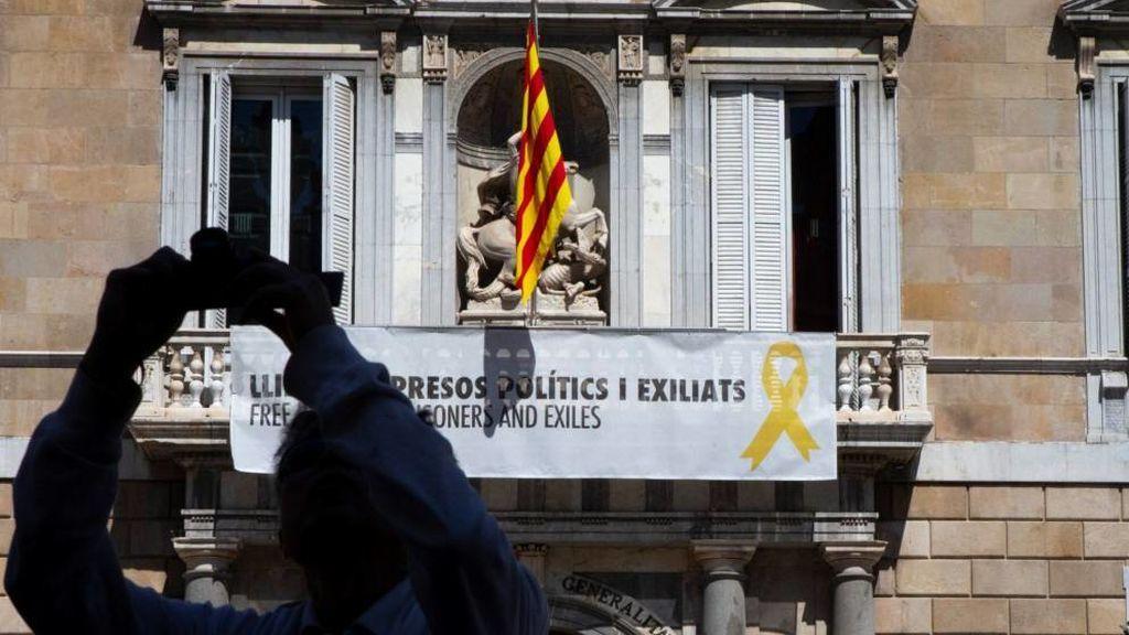 La Guardia Civil vuelve a la Generalitat por el referéndum ilegal del 1-O