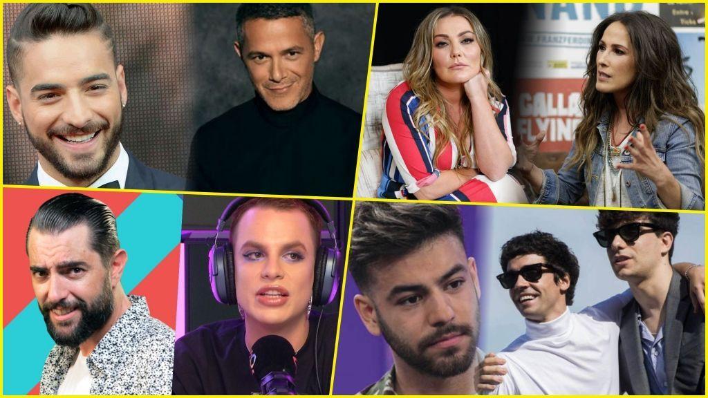 Famosos al fango: Jedet, Mateo y otras celebridades que se pelean en público