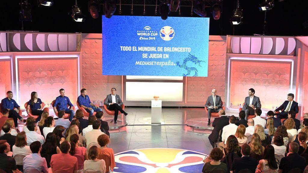 Mediaset España presenta la política comercial de la Copa del Mundo FIBA 2019