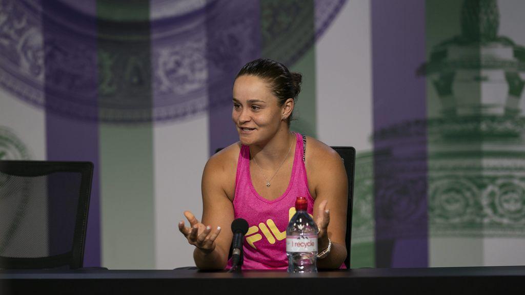 La tenista Barty cuela referencias de Disney en sus ruedas de prensa de Wimbledon hasta que por fin la pillan