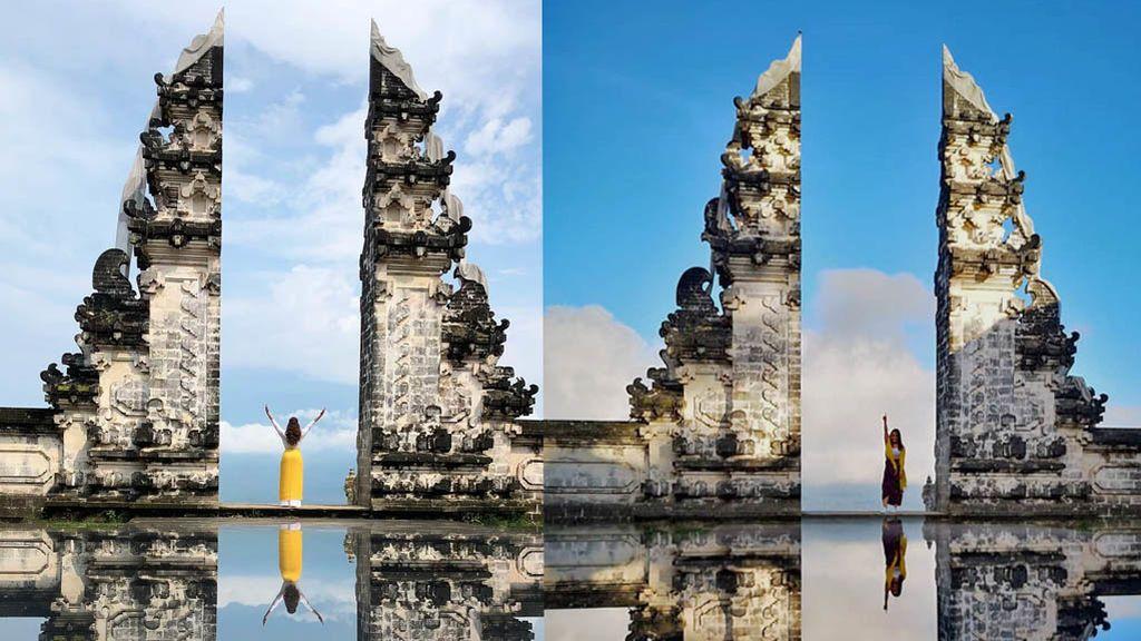 Postureo al descubierto: el paisaje de Bali que todo el mundo sube a Instagram no existe