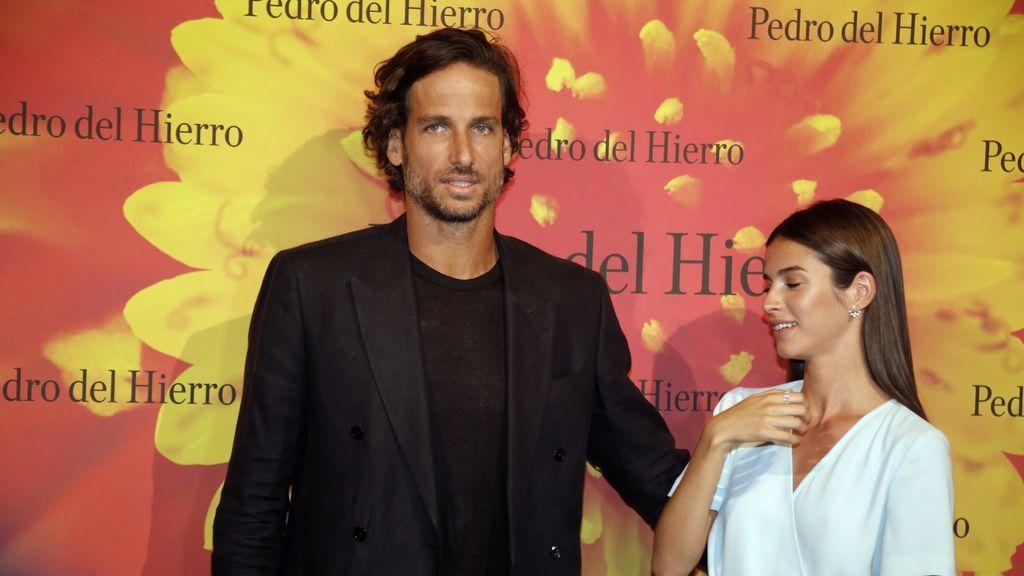 """Feliciano López y Sandra Gago hablan de su boda y de hijos en la Fashion Week Madrid: """"Queremos familia"""""""