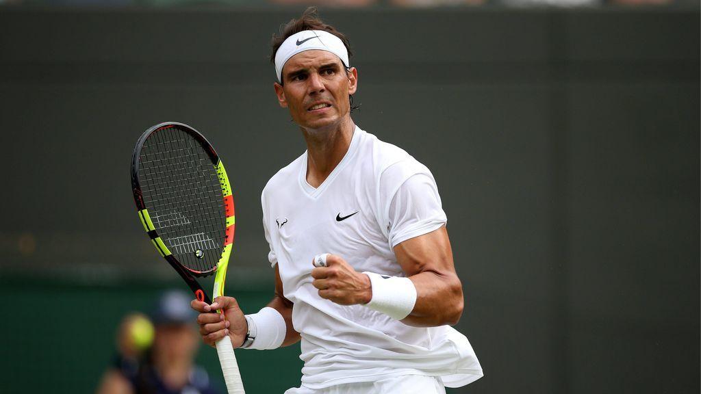 Rafa Nadal acaba con Querrey y se verá con Roger Federer en las semifinales de Wimbledon (7-5, 6-2 y