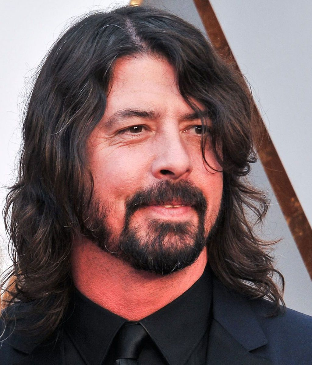 Dave Grohl, líder de Foo Fighters y ex batería de Nirvana