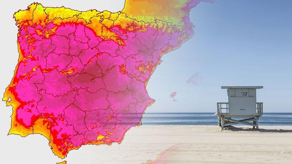 Del granizo a los 40ºC: se disparan las temperaturas hasta el fin de semana en todo el país