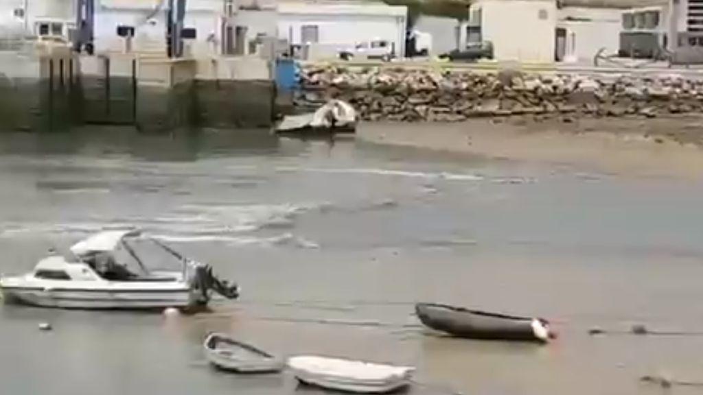 No, no fue el afelio: la razón por la que desapareció el mar en Conil por unas horas