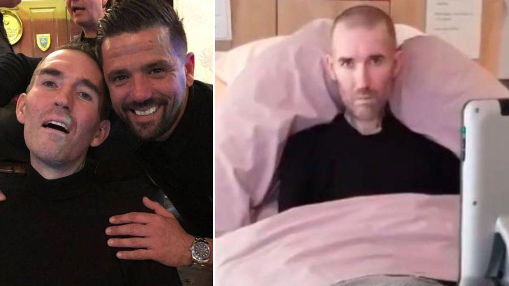 """Nacho Novo sobre Fernando Rickse, futbolista enfermo de ELA: """"Hace seis años que se lo diagnosticaron, pero le habían dado uno de vida y lleva cinco de más"""