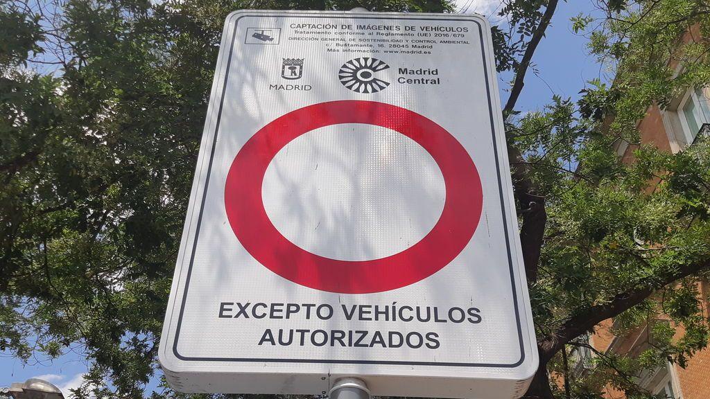 20190708 SOC PC CARTEL PROHIBICIÓN MADRID CENTRAL