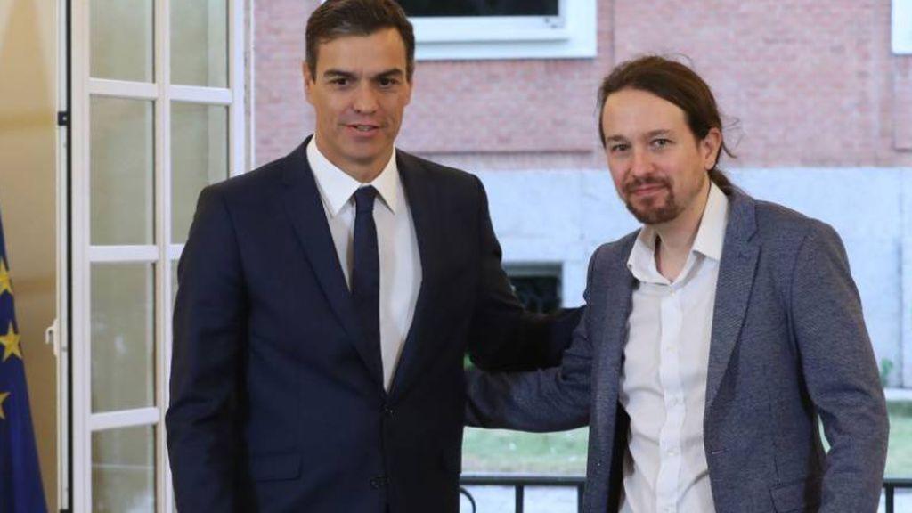 Sánchez propone reformar la Constitución para  que gobierne la lista más votada e Iglesias le dice que no