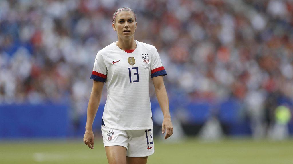 """El discurso feminista de Alex Morgan: """"Las mujeres somos más que solo atletas"""""""