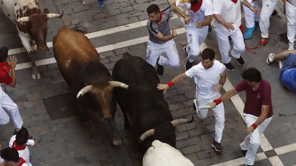 Los toros de Victoriano del Río dejan un corneado