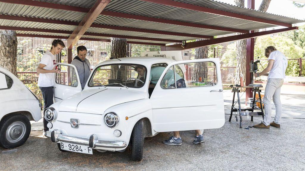 Seat 600 convertido en coche eléctrico