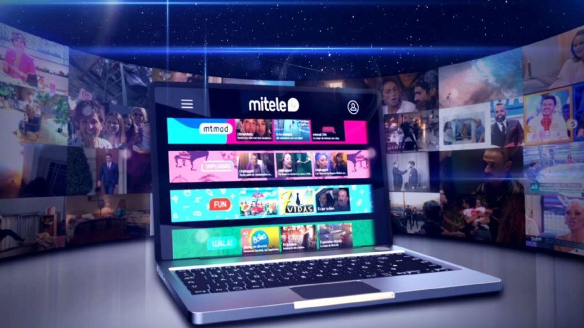 Mediaset España inicia la distribución de contenidos de pago con el lanzamiento de Mitele Plus