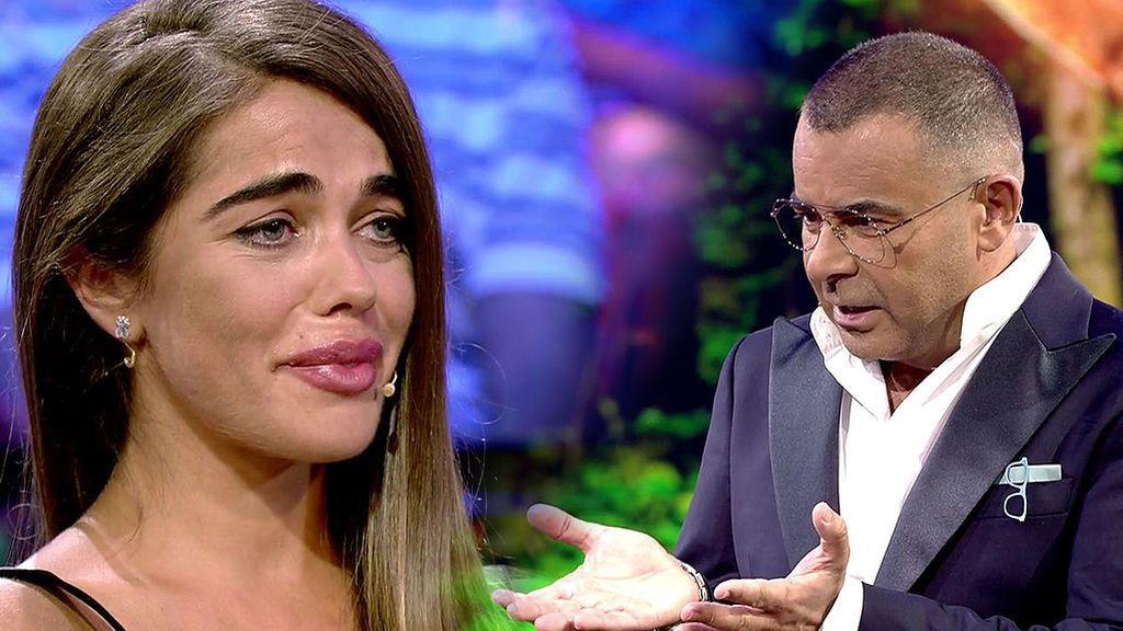 Un comentario de Jorge Javier hace llorar a Violeta
