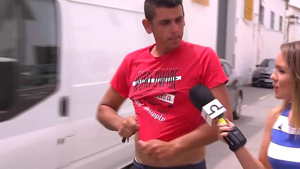 Sergio, el novio de Dana, habla sobre las conexiones del teléfono móvil