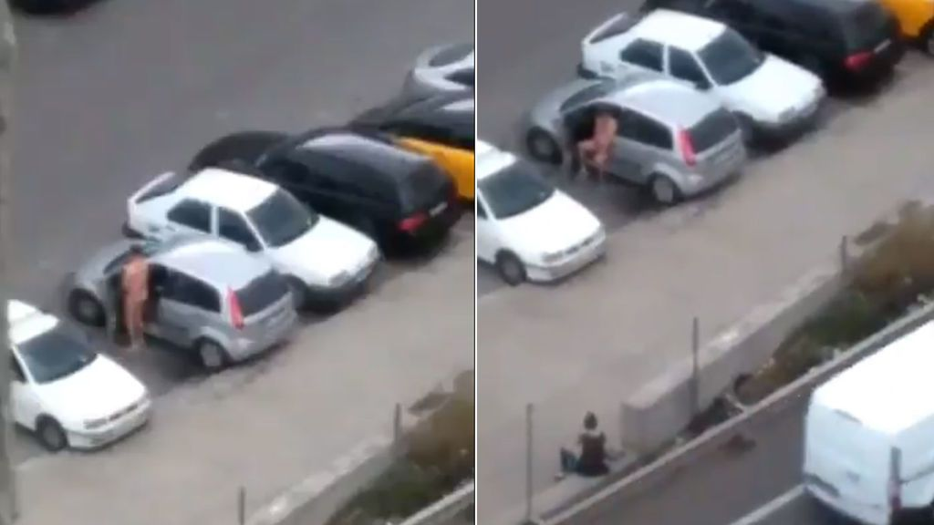 Xabier Albiol denuncia con un vídeo en redes sociales cómo un hombre se masturba en plena calle