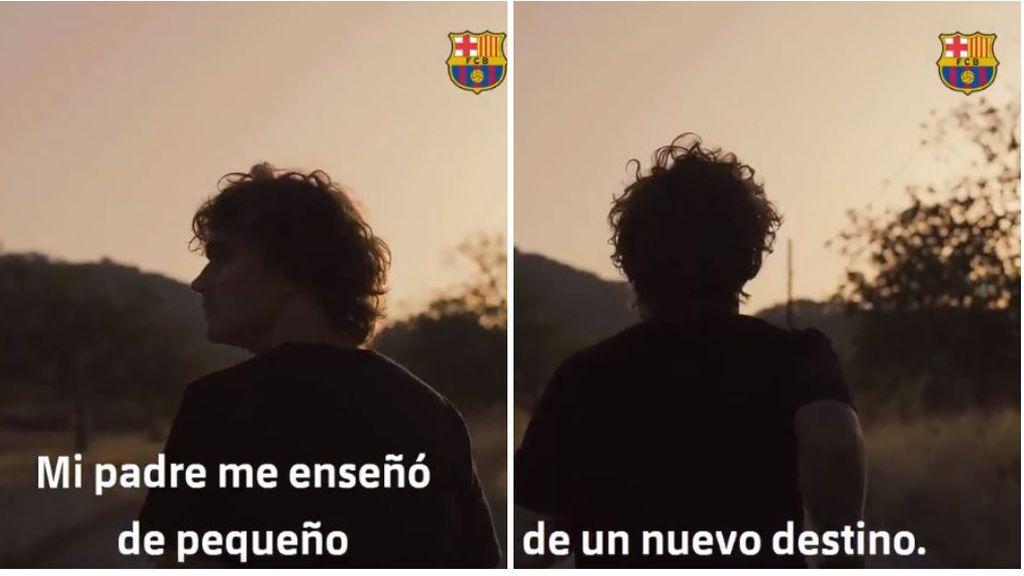 """""""La vida tiene segundas oportunidades"""", el Barça publica 'La Decisión 2.0' tras el fichaje de Griezmann"""