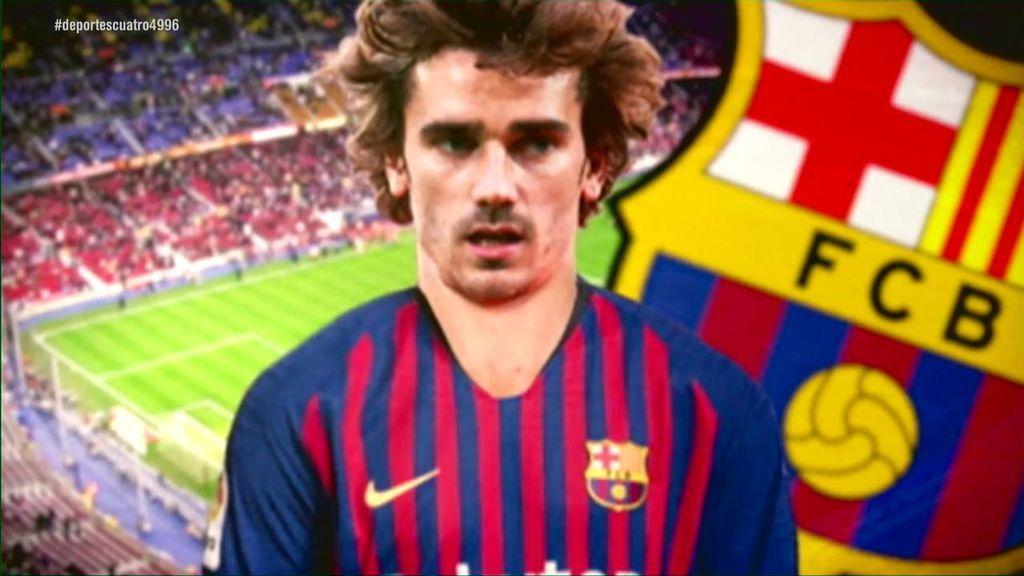 El Atlético toma medidas legales contra el Barça y Griezmann y exige el pago de 200 millones como cláusula