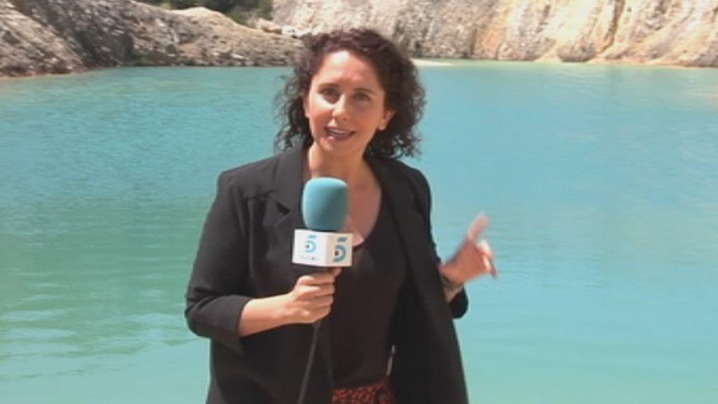 El paradisíaco y tóxico Monte Neme: Un lago turquesa con fuertes peligros para la salud