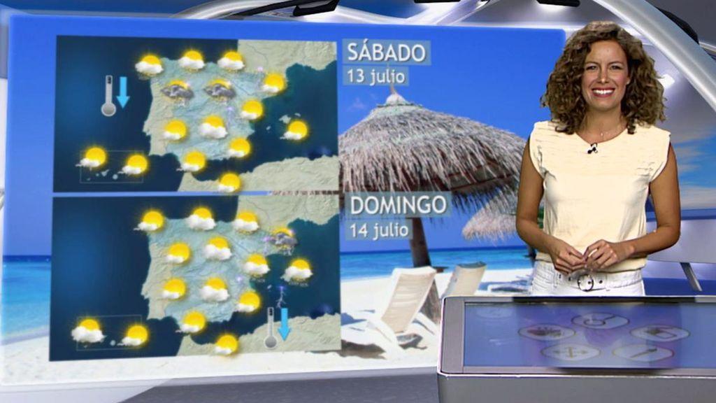 El calor y el sol nos dejan: qué tiempo te espera el fin de semana