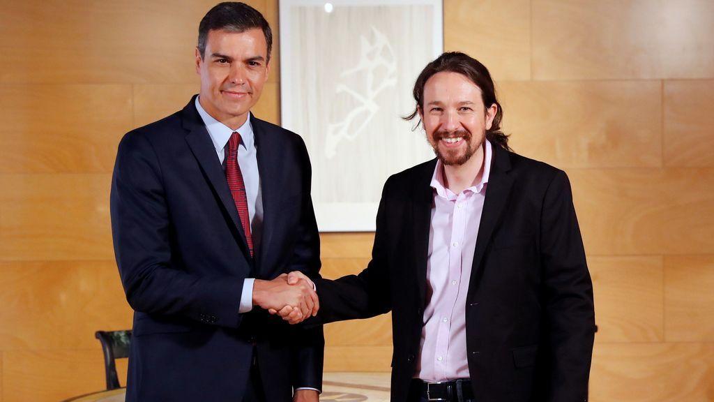 Unidas Podemos pregunta a sus bases qué tipo de pacto quieren con Sánchez
