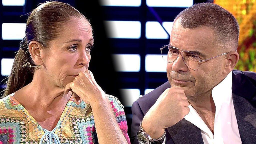Las pullas de Jorge Javier a Isabel Pantoja en su reencuentro en plató