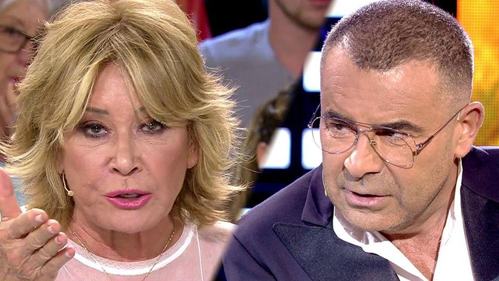 Mila Ximénez, crítica con la actitud de Jorge en la entrevista con Pantoja