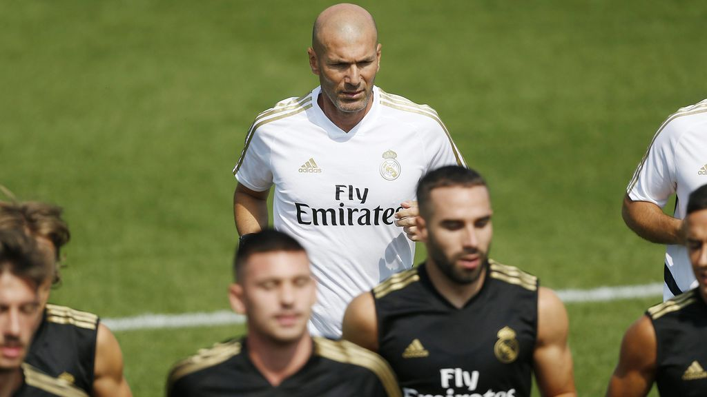 Zidane abandona la pretemporada del Real Madrid por motivos personales