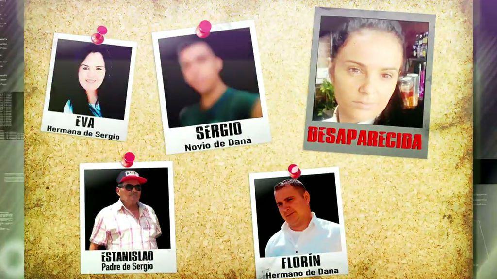 Los cambios de discurso de los cuatro protagonistas sobre la desaparición de Dana Leonte