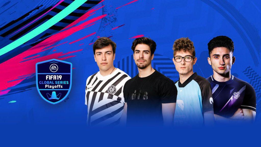 Cuatro jugadores españoles en los Playoffs de los FIFA 19 Global Series