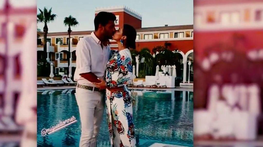 Todas las fotos de las vacaciones de Miguel y Paula