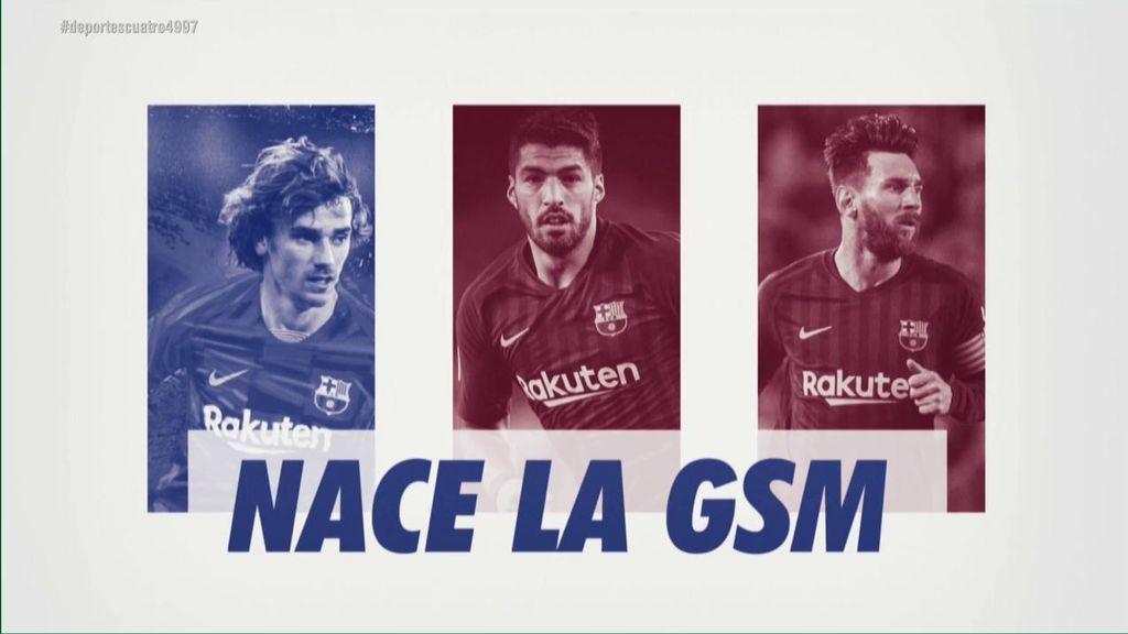 Giezmann, Messi y Suárez: El temible tridente del Barcelona para esta temporada