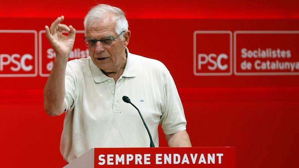 "Borrell asegura que España ""no está para volver a repetir elecciones"" generales"